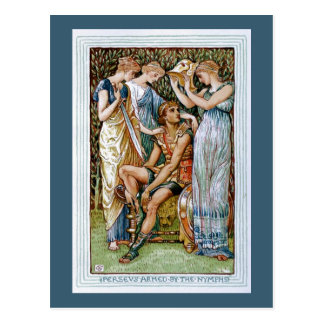 Perseus armed by the Nymphs Postcards