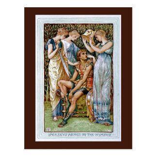 Perseus armed by the Nymphs Postcard