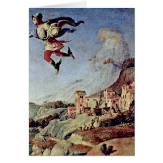 Perseus By Piero Di Lorenzo Greeting Card