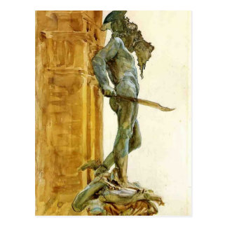 Perseus, Florence  by John Singer Sargent Post Cards