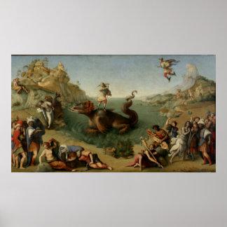 Perseus Rescuing Andromeda Posters