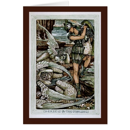 Perseus & the Gorgons Greeting Cards
