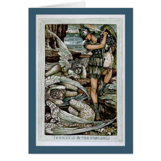 Perseus & the Gorgons Greeting Card