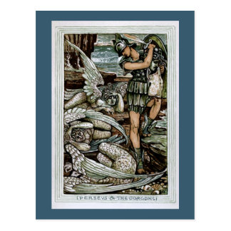 Perseus & the Gorgons Postcard