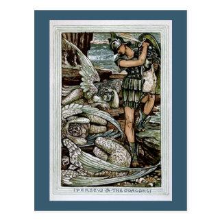 Perseus & the Gorgons Postcard