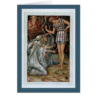 Perseus & the Graiae Card