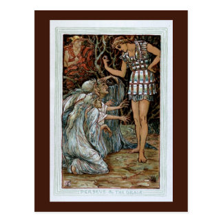 Perseus & the Graiae Postcard