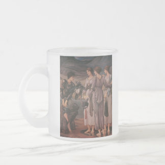 Perseus & The Sea Nymphs Frosted Glass Mug