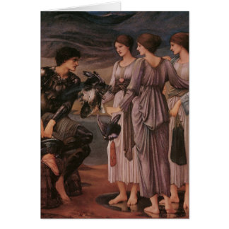 Perseus & The Sea Nymphs Greeting Card