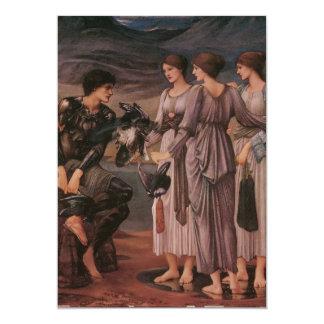 Perseus & The Sea Nymphs Custom Invite