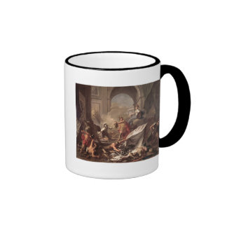 Perseus, under the protection of Minerva Ringer Mug