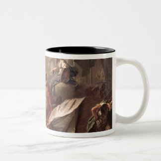 Perseus, under the protection of Minerva Two-Tone Mug