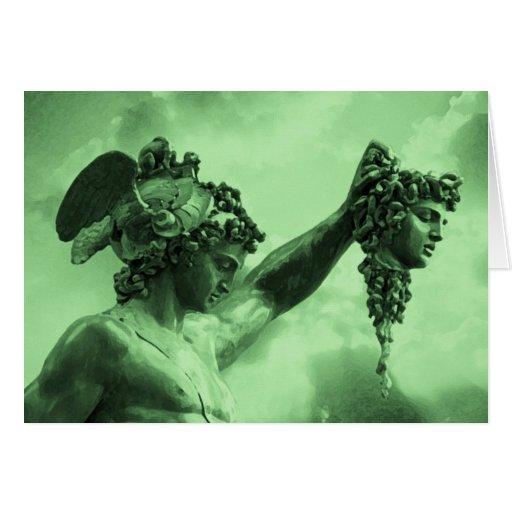 Perseus vs Medusa Cards