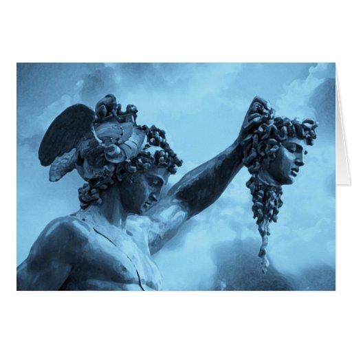 Perseus vs Medusa Card