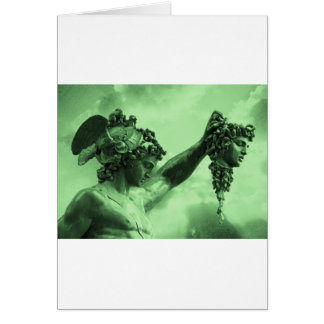 Perseus vs Medusa Greeting Cards