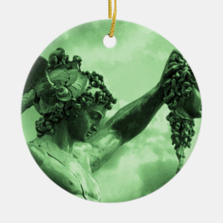 Perseus vs Medusa Christmas Ornament