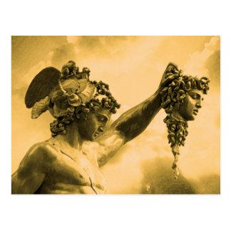 Perseus vs Medusa Postcard