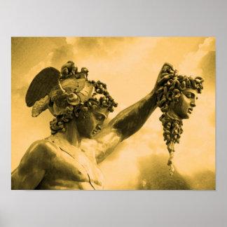 Perseus vs Medusa Print