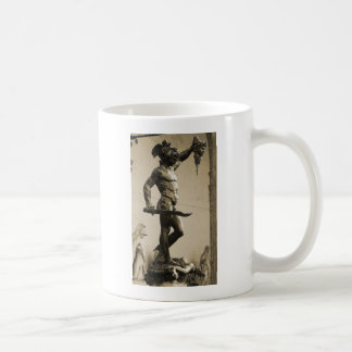 Perseus with the head of Medusa Basic White Mug