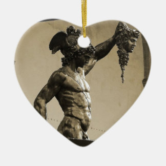 Perseus with the head of Medusa Christmas Ornament