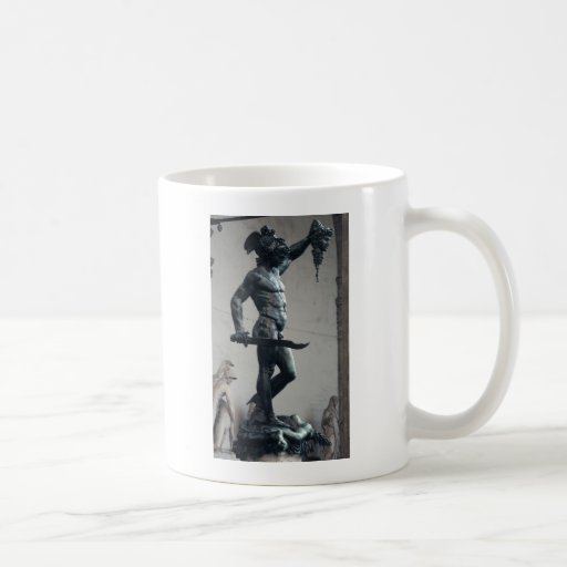 Perseus With The Head Of Medusa Mugs