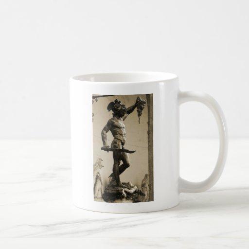 Perseus with the head of Medusa Mug