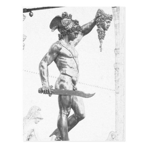Perseus with the Head of Medusa Postcard