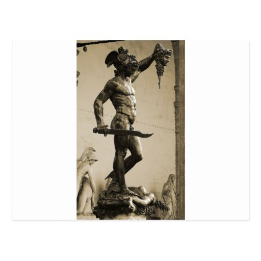 Perseus with the head of Medusa Post Cards