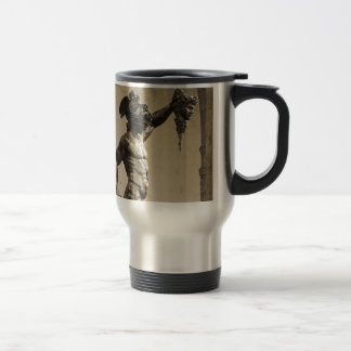 Perseus with the head of Medusa Stainless Steel Travel Mug