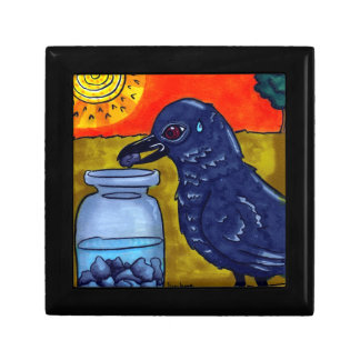 Perseverance Crow Gift Box