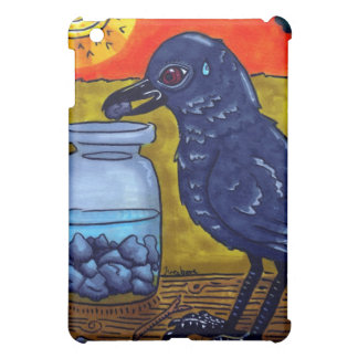 Perseverance Crow iPad Mini Cover