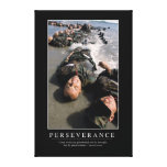 Perseverance: Inspirational Quote Canvas Print