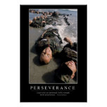 Perseverance: Inspirational Quote Poster