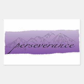 Perseverance Sticker