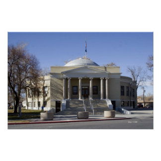 Pershing County Courthouse, Lovelock, Nevada Posters