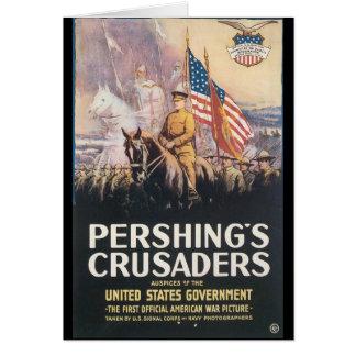 Pershings Crusaders World War II Greeting Card