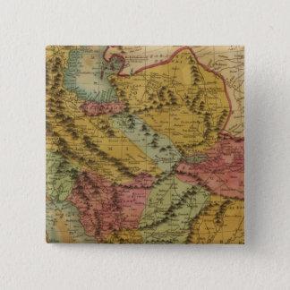 Persia 2 15 cm square badge