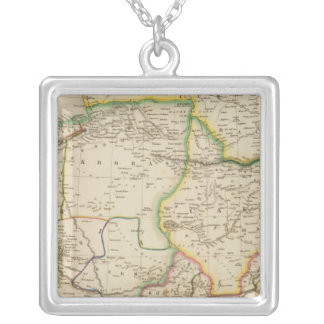 Persia 3 silver plated necklace