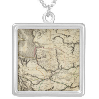 Persia 4 silver plated necklace