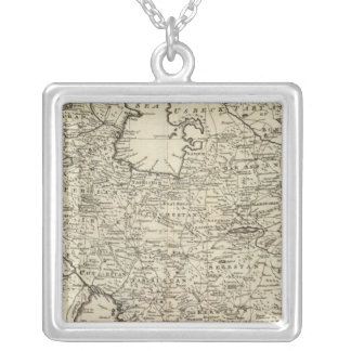 Persia 5 silver plated necklace
