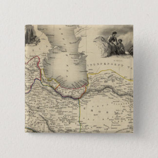 Persia 6 15 cm square badge