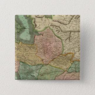 Persia 8 15 cm square badge