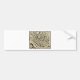 Persia Ancient Map 1747 Bumper Sticker