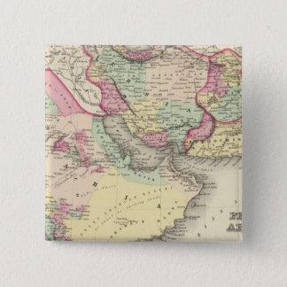 Persia Arabia 15 Cm Square Badge
