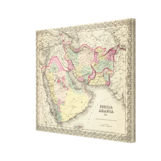 Persia Arabia 2 Canvas Print