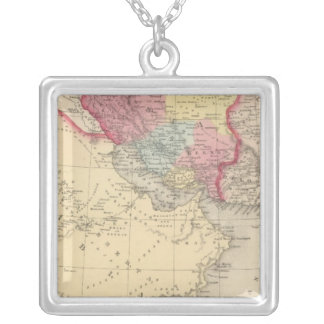 Persia, Arabia 2 Silver Plated Necklace
