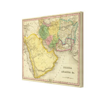 Persia Arabia Canvas Print
