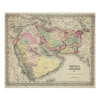 Persia Arabia Poster