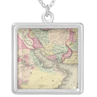 Persia Arabia Silver Plated Necklace