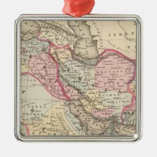 Persia, Arabia, Turkey, Afghanistan, Beloochistan Christmas Ornament